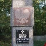 Mogiła powstańców 1863 w Lutomiersku