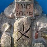 Kamień może pochodzić z grobu powstańców, który już nie istnieje.