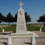 Aubérive. Pomnik ku czci poległych w wojnach światowych.