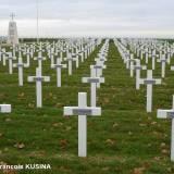 "Aubérive. Polski cmentarz wojenny ""Le Bois du Puits""."