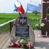 Olszowa. Pomnik ppor. Lucjana Malcza.