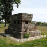 Pomnik na kwaterze wojennej.