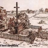 Rekonstrukcja wyglądu cmentarza wojennego w Blinnie.