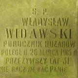 por. huzarów Władysław Widawski