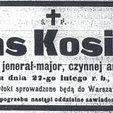 gen. mjr Alfons Kosiński
