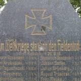 Idzbark, pomnik poległych w latach 1914-18