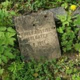 Jedwabno, kwatera wojenna na dawnym cmentarzu wiejskim
