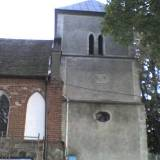 Wieża (dzwonnica) kościoła p.w. św. Apostołów Piotra i Pawła w Lipinkach