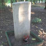 Mogiła - pomnik w Mrągowie