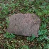 Plichta, pozostałości pomnika poległych podczas IWŚ