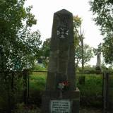 Pomnik poległych pod Berezą Kartuską.