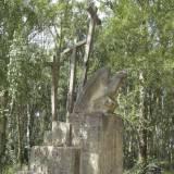 Pomnik koło wsi Arabowszczyzna.