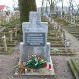 Grodno. Kwatera wojenna na Cmentarzu Farnym.