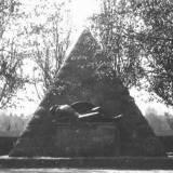 Nieistniejacy pomnik żołnierzy niemieckich.