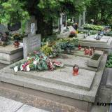 Mogiła nieznanych zołnierzy poległych w latach 1920, 1939 i 1945.
