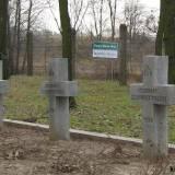 Cmentarz forteczny w Twierdzy Modlin.