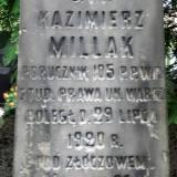 Grób por. Kazimierza Millaka