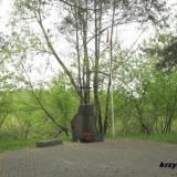 Pomnik w Rybienku Leśnym.