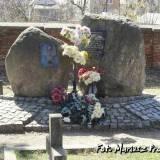 Pomnik na cmentarzu farnym w Białymstoku.