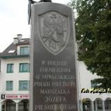 Sejny. Pomnik Powstania Sejneńskiego.