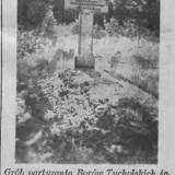 Grób Franciszka Gnacińskiego w 1939 r.
