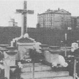 Cmentarz Bajkowy. Kwatera wojenna w 1935 r.