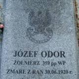 Mogiła Józefa Odora.