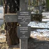 Dawny grób sierż. pil. K. Jankowskiego.