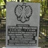 Grób gen. dyw. Stanisława Pruszyńskiego.