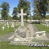 Brześć. Polski cmentarz garnizonowy.