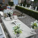 Montigny-en-Ostrevent. Grób artylerzysty Henri Malapel