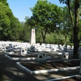 Kwatera żołnierzy Armii Czerwonej poległych w 1945 r.