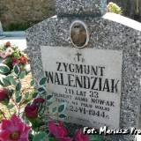 Grób Zygmunta Walendziaka, żołnierza NOW-AK
